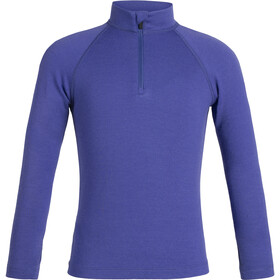 Icebreaker 260 Tech LS Half Zip Shirt Kids mystic